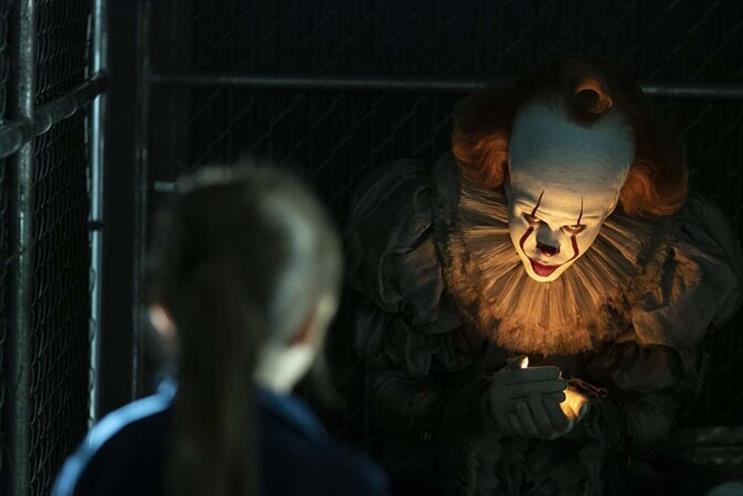 Pennywise: not the funny sort of clown (picture: Warner Bros)