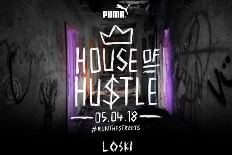 Puma apologises for terms used in House of Hustle event