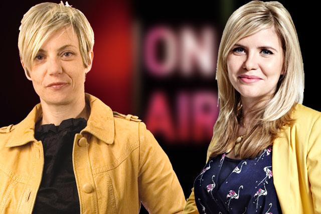 Women on radio: Miranda Sawyer (left) and Emma Barnett