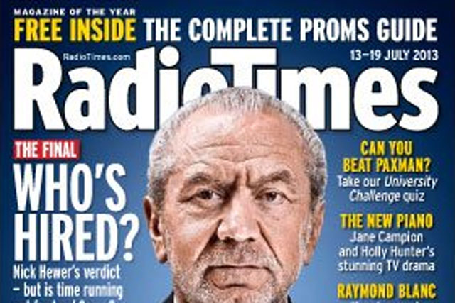 Radio Times: may launch its own electronic programme guide