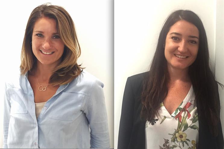 RadiumOne new hires: Natalie Yorke (left) and Laura Roman