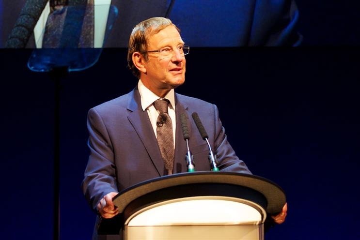 Desmond: broached issue of content funding at Royal Television Society's Cambridge Convention