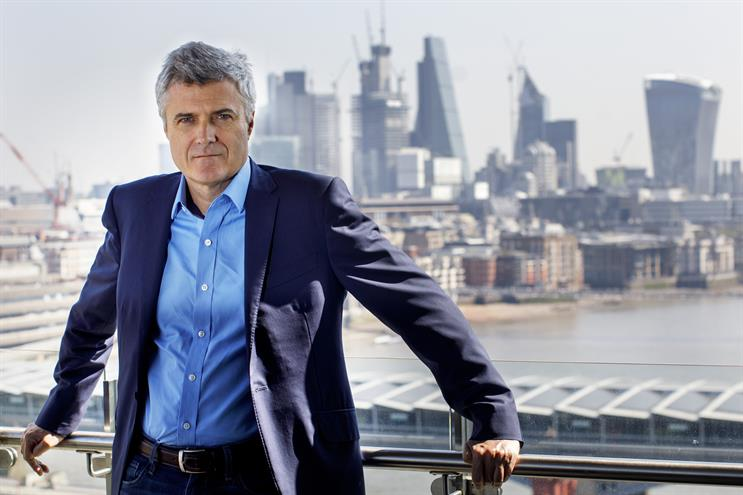 Mark Read: took the helm as WPP CEO yesterday