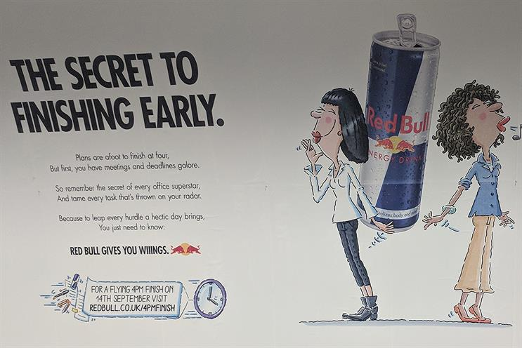 ASA bans Red Bull ad for suggesting drink improves concentration