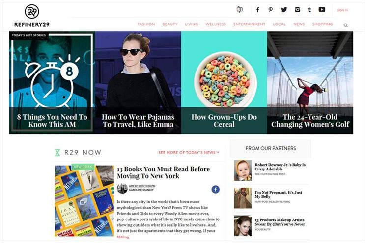 Refinery 2015: WPP invested in the company in 2015