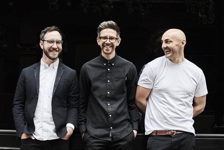 (from left) Ben Harrison, Paul Martin and Darren Bowles will helm Re's new London office