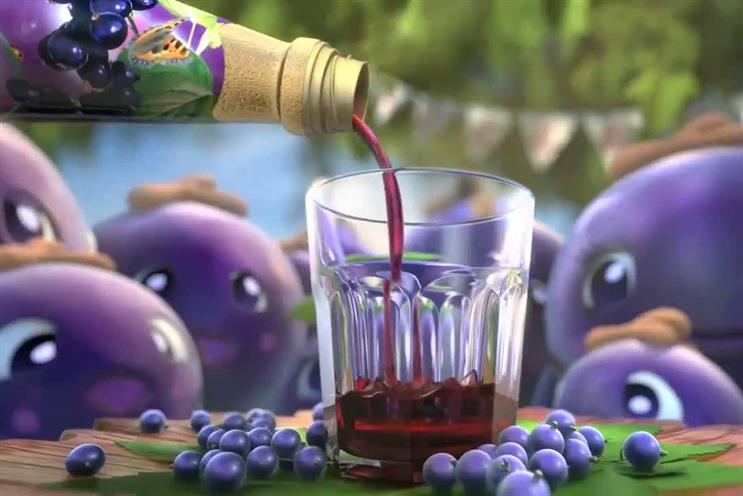 Ribena: Grey London handles the global advertising account and also oversees Ribena's sister brands