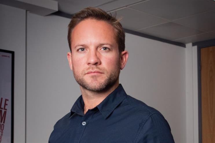 Richard Larcombe: the former Virgin Media marketer has joined Tesco Bank