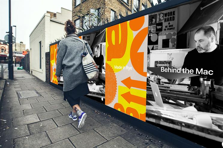 Made in the UK: campaign includes outdoor activity
