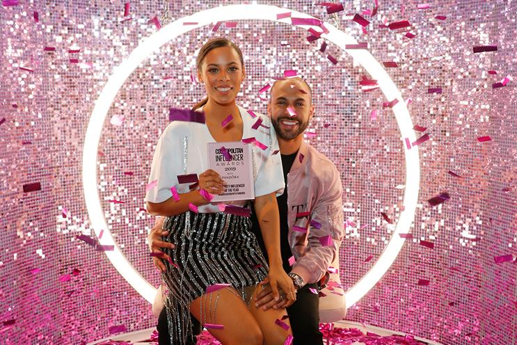 Cosmopolitan Influencer Awards: Rochelle and Marvin Humes