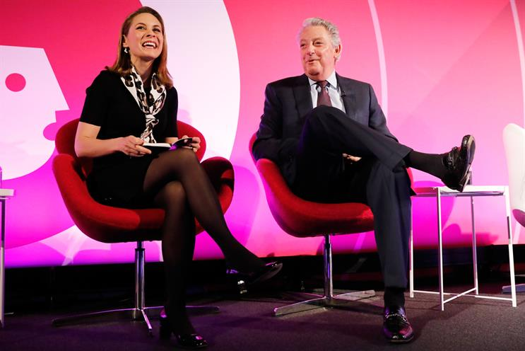 Ad Week Europe: Michael Roth (right) Interpublic's chairman and chief executive
