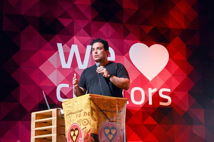 Vasconcellos: previously led Facebook Creative Shop in Latin America