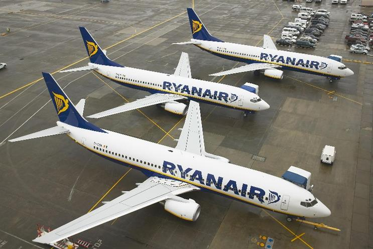 Ryanair: the airline says its third year of improvements revolves around digital