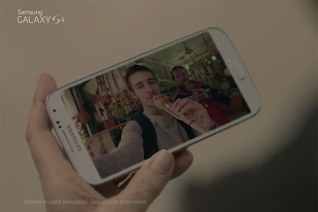 Samsung: most shared branded content over 2013