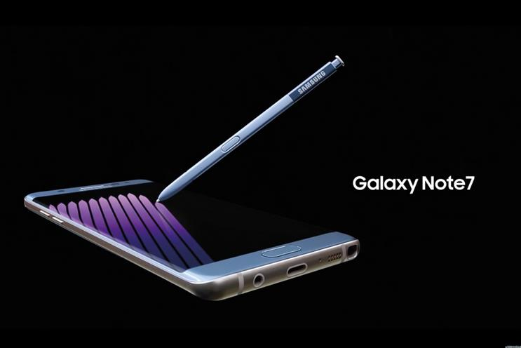 Samsung: ends production of the Galaxy Note 7