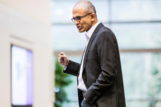 Satya Nadella: Microsoft's chief executive officer