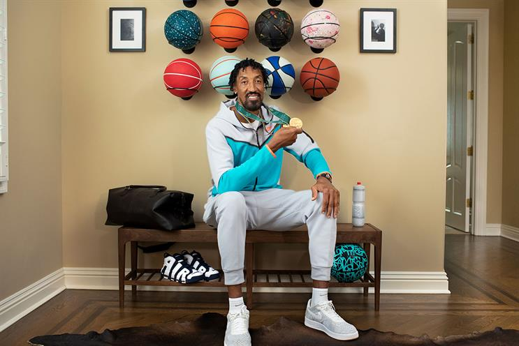 Airbnb: fans can virtually meet US basketballer Scottie Pippen