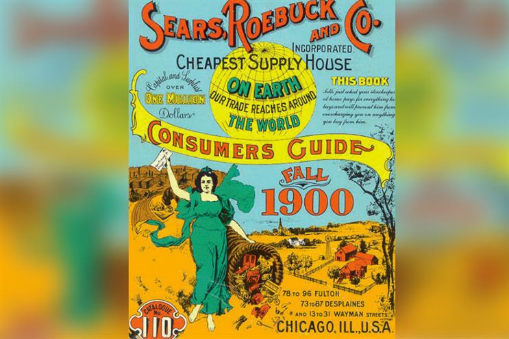 History of advertising: No 184: A Sears Roebuck catalogue