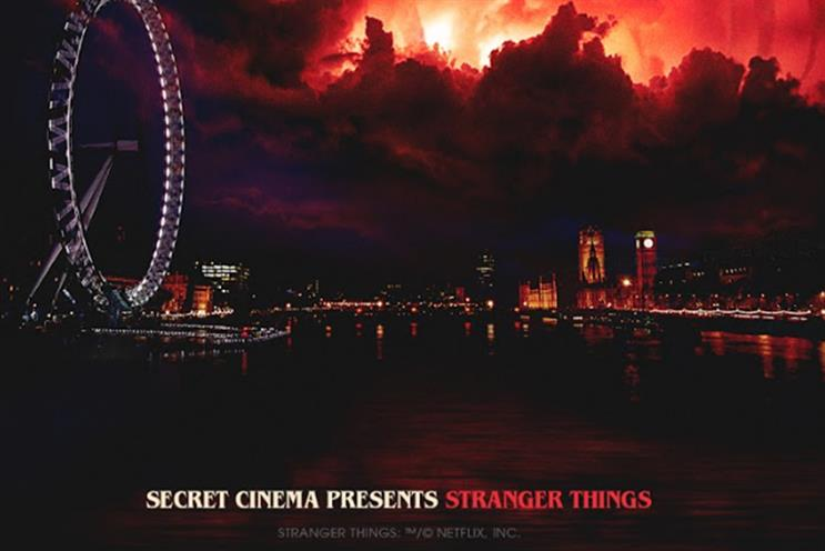 Secret Cinema: Stranger Things production starts in November