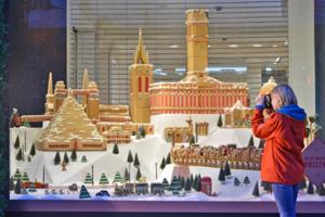 Selfridges' gingerbread installation