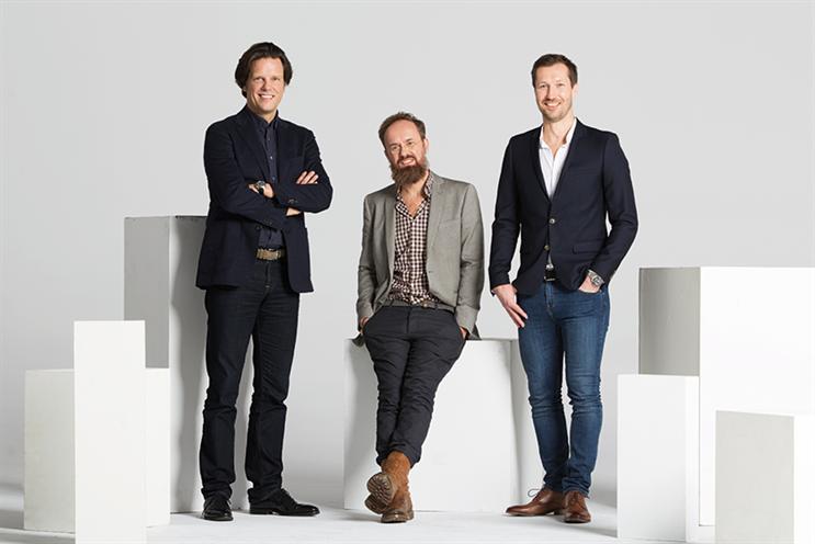 From left: Florian Haller, Alexander Schill and Markus Noder