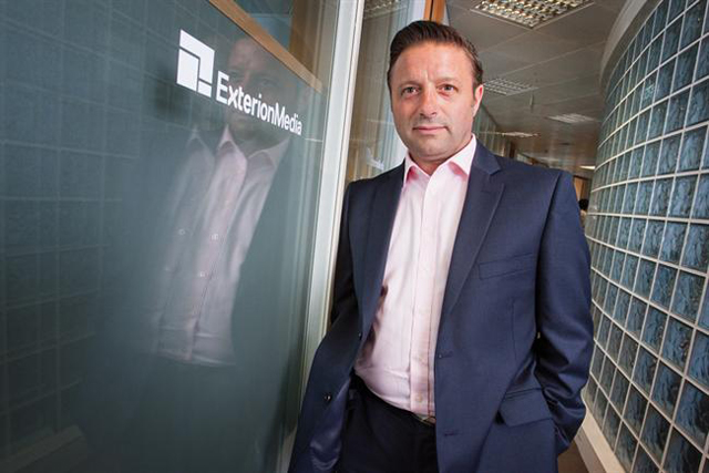 Shaun Gregory: the chief executive of Exterion Media
