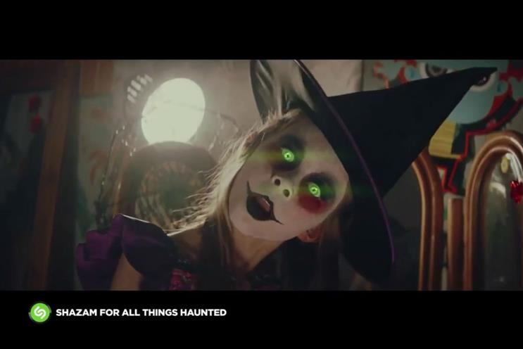 Shazam teamed up with Asda for its AR-enabled halloween ad