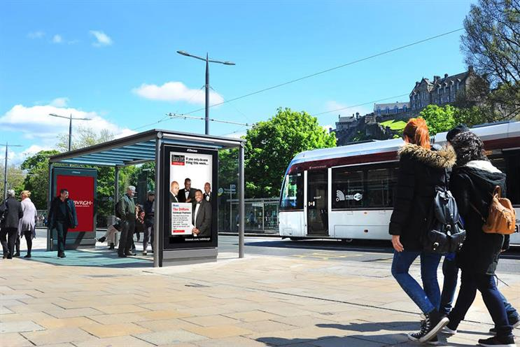 JCDecaux: Lord Foster's digital bus shelter