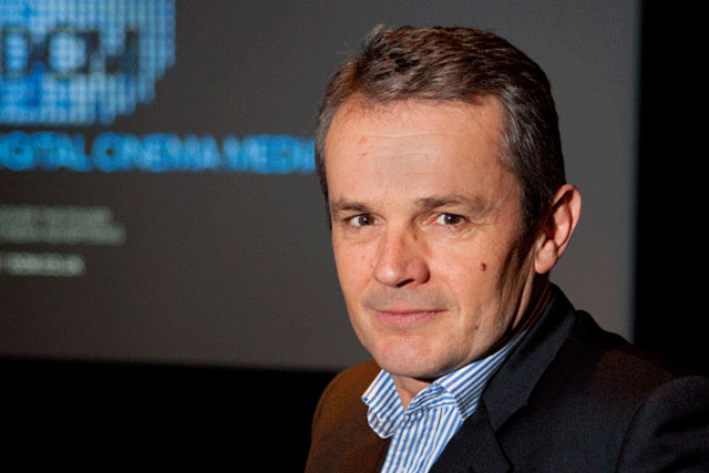 Simon Rees: steps down at Digital Cinema Media