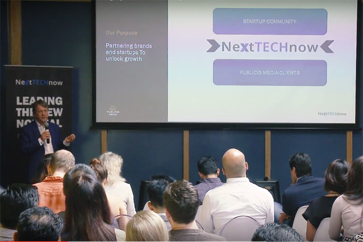 The launch of NextTechNow in Singapore