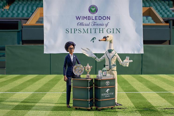 Sipsmith: Wimbledon sponsor