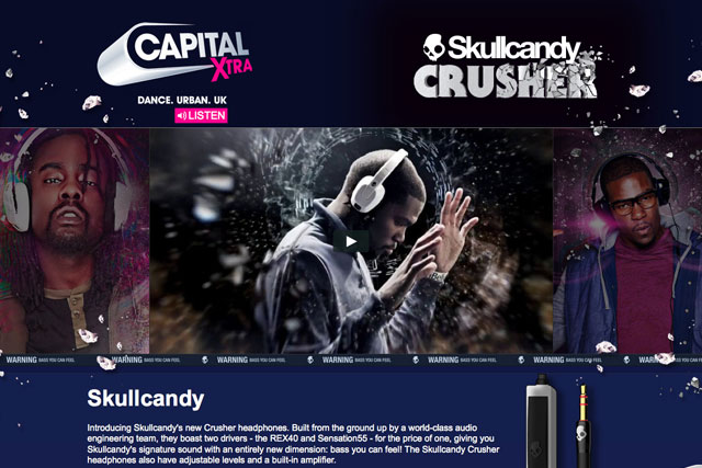 Skullcandy: signs up as the first commercial partner of Capital Xtra