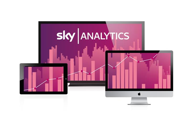 Sky Analytics: marketers can plan media themselves