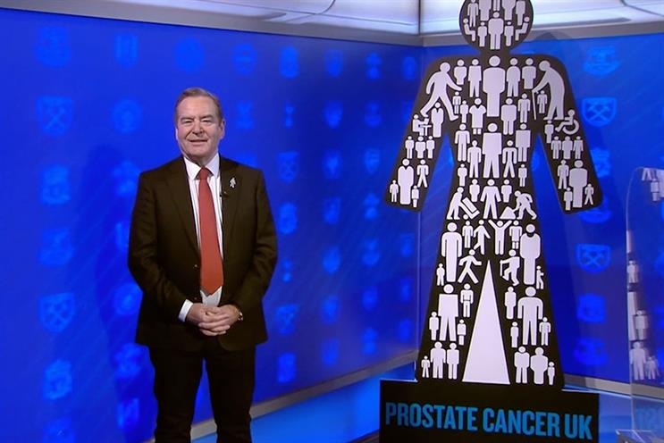 Prostate Cancer UK: Soccer Saturday presenter Jeff Stelling features in the campaign