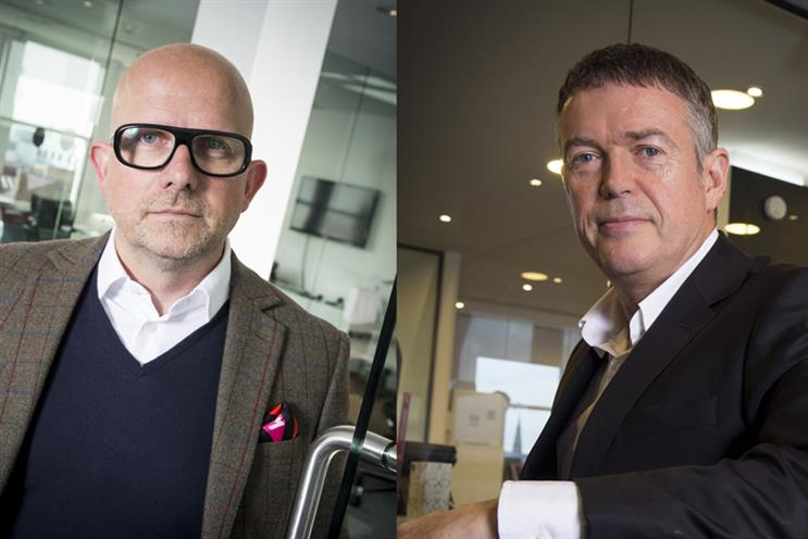 M&C Saatchi explains diversity approach: MacLennan, left, and Tindall