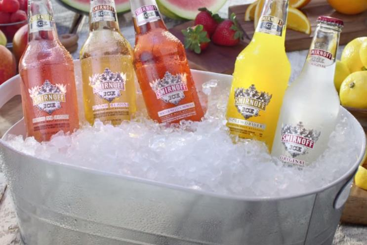 Diageo: flavoured vodka is faring poorly in US