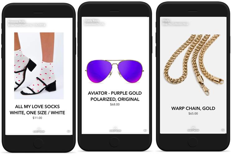 Snapchat: dynamic ads launching for US audience before wider roll-out