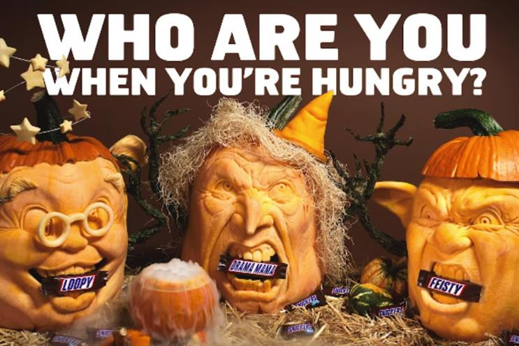 Halloween: Snickers, Tesco, Groupon have developed festive spots