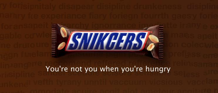 Case Study How Fame Made Snickers Youre Not You When Youre