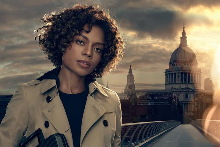 Naomie Harris: reprises the role of Miss Moneypenny for the new Sony Xperia ad