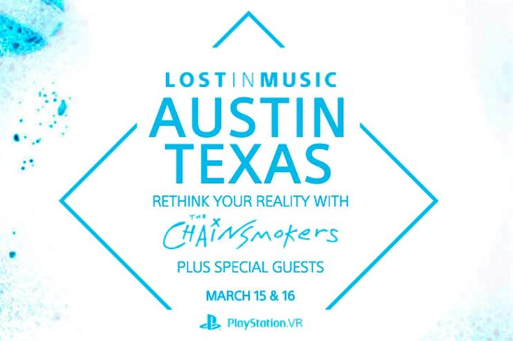 Sony will host an exhibition and a VR experience at SXSW 2017 in Austin, Texas