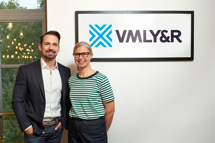 Strategy leaders at VMLY&R: Ortner and Lewis