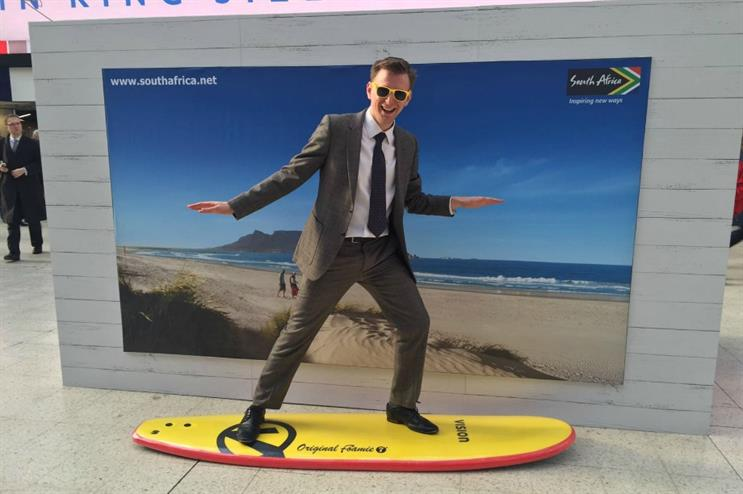 The vending will highlight to experiences and activities on offer in SA, such as surfing