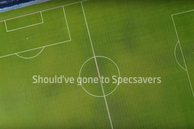 Specsavers: says resemblance to Smart Energy GB campaign is coincidence