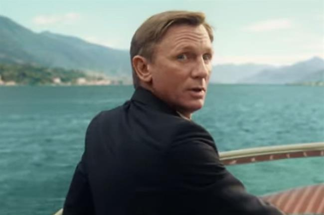 Daniel Craig as James Bond in Spectre, which helped cinema ticket sales in the UK