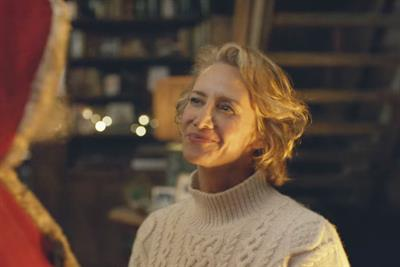 The M&S Christmas ad featured Mrs Claus