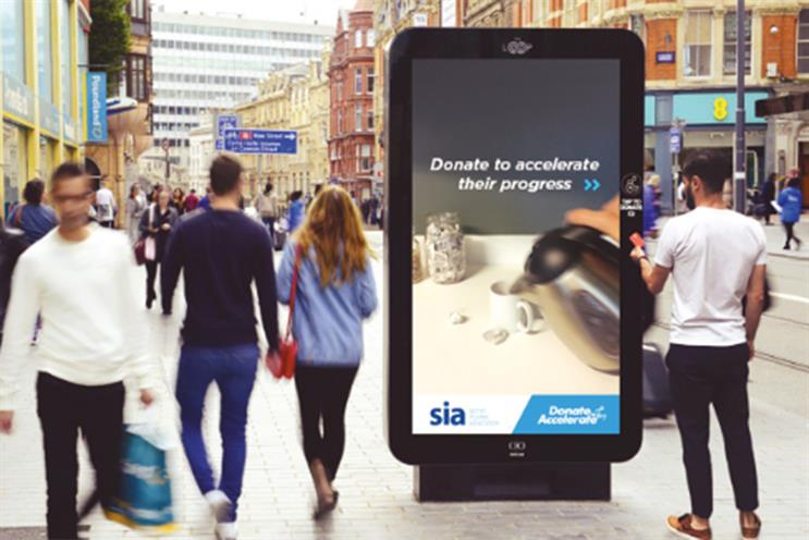 Engine creates charity ad to be fast-forwarded