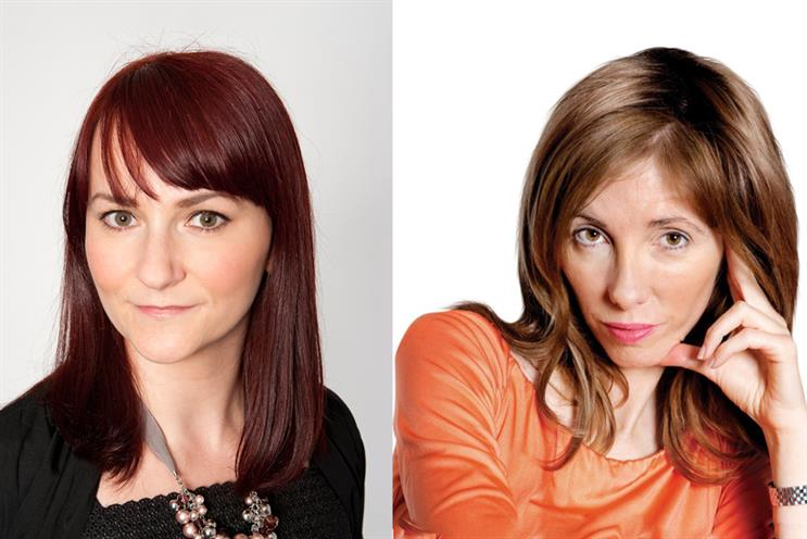 Marketing editor Rachel Barnes (left) becomes Campaign's UK editor under Claire Beale as global editor-in-chief