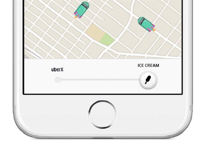 Uber partnered with ice-cream brand Magnum on the global campaign
