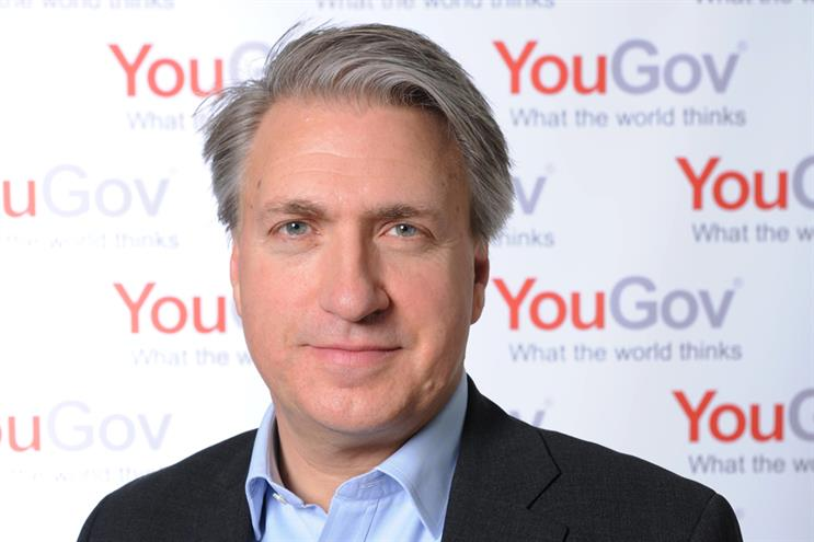 YouGov CEO Shakespeare: 'We want to be inside the process of delivering ads'